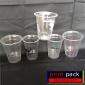 Sablon 2000pcs Gelas Cup Plastik Plaspac PP 12oz -