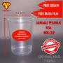 Cetak Sablon Gelas Plastik Murah dan Berkualitas Tersedia Berbagai Ukuran dan Ketebalan Cup Gelas Plastik Printing Pesan