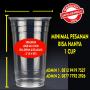 Sablon Cup / Gelas Plastik paper cup paper biwl Dengan Logo Sendiri | Sablon Cup Plastik dan Sablon Gelas Murahhhhh MERI