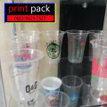Sablon/Printing GELAS Thai Tea (GELAS CUP PLASTIK OVAL PP)12oz 8gram