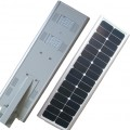 lampu jalan LED 30 Watt ALL IN ONE System, Integrated Solar Street Light System, PJU ALL IN ONE System