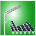 lampu jalan LED 25 Watt, PJU ALL IN ONE 25 Watt, Integrated Solar Street Light