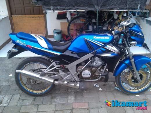 Over Kredit Ninja R 2014 Biru Murah Gan Motor