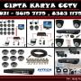 Pusat Layanan Pemasangan Camera CCTV Se Jabodetabek