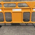 road barrier portable safety fence,Pembatas palang pagar Jalan Plastik