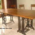 Meja makan Jati Antik