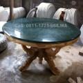 Meja batu pualam antik