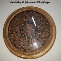Jam antik, Kaligrafi