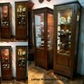 Lemari pajangan kayu jati antik