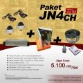 PAKET JN4CH DVR JUAN 4 CH HDD Sony-Effio-E Harga Murah & Pemasangan Area Sby
