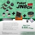 PAKET JN8CH DVR JUAN 8 Channel HDD EFFIO Gen-02 Harga Murah