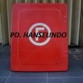 JUAL FIRE HOSE BOX / KOTAK SELANG PEMADAM BAHAN FIBER HARGA MURAH