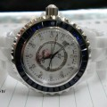 CHANEL J12 Ceramics Blue Dial (WBU) for Ladies