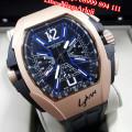 Jam Tangan Franck Muller Lykan Hyper Sport Black Rosegold Dial Blue