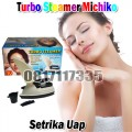 Turbo Steamer Michiko Setrika Uap & Steamer Wajah Asli Murah