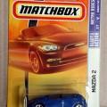 Mazda 2 Metro Rides Mattel Matchbox No. 27 N2509-0910 Scale 1/64 Blue