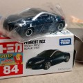 Peugeot RCZ Takara Tomy No. 84 0459079 Scale 1/64 Dark Blue Metallic