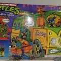 Party Wagon Teenage Mutant Ninja Turtles TMNT Mutant Attack Van 25th Anniversary Playmates 2009
