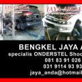 Servis Onderstel Mobil dI JAYA ANDA BEngkel