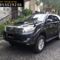 Grand Fortuner Matic 2013 2.5 VnT Hitam istimewa Sby