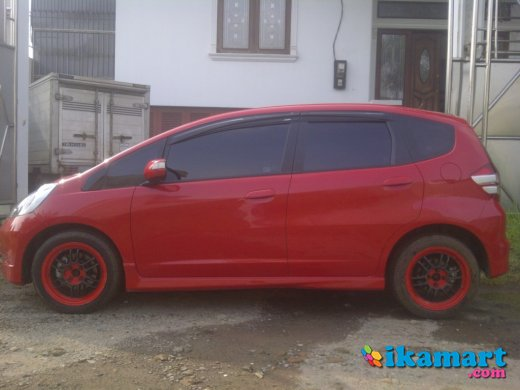 jual honda jazz rs at, 2010, merah