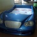 JUal tempat tidur anak (model mobil)