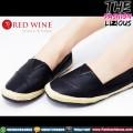 Sepatu Wanita Import - Red Wine Y805-6 Black