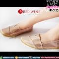 Sepatu Wanita Import - Red Wine Y805-6 Khaki