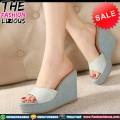 SALE Sepatu Wedges Wanita Lokal Murah - GWW00