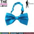 Dasi Kupu-kupu atau Bow Tie - Satin Blue