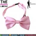 Dasi Kupu-kupu atau Bow Tie - Satin Soft Pink