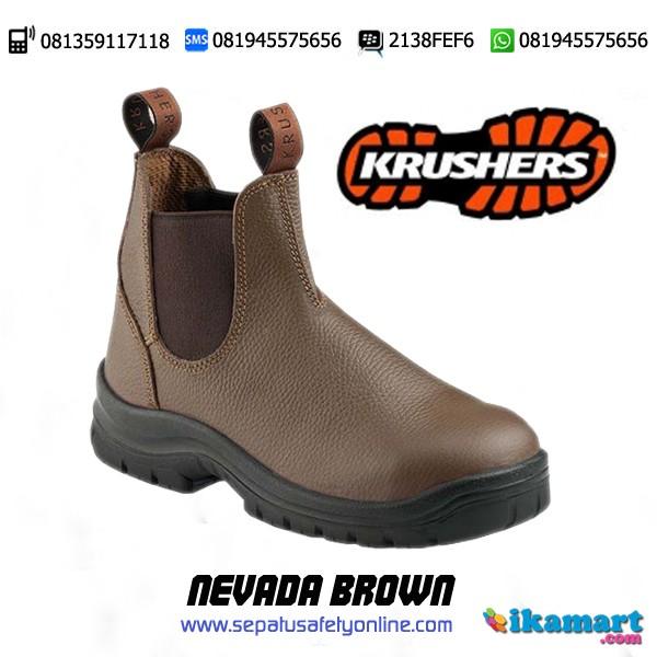 KRUSHERS NEVADA BROWN Grosir Sepatu Safety Segala Merk