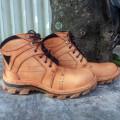 Sepatu Lapangan Pria, Harga Sepatu Boot Proyek, Gambar Sepatu, Sepatu Kulit Safety