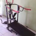Treadmill manual 6in1 alat olahraga pembesar betis