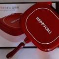 Happy call panci masak double pan wokpan lejel GRATIS buku resep