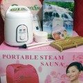 Sauna steam beauty spa portable alat mandi uap jaco bakar lemak