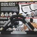 Iron Gym Alat olahraga pengencang otot lengan life fitnes jaco