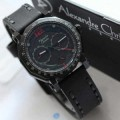 Jam Tangan Alexandre Christie Wanita AC 6373 Black Red