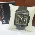 JAM TANGAN PRIA ALEXANDRE CHRISTIE 6409 MC BLACK GREY (ORIGINAL)