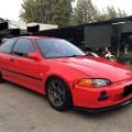 Honda Estilo 1995 Merah 3 Door