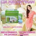GOLDEN UNDERARM 6 DAYS paket perawatan ketiak  dan selangkangan  www.liakecantikan.com  / 0821239000