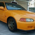 Honda Civic Estilo VTEC 1.6 Tahun 1994 Warna Kuning