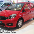 DP 8 JUTAan Honda BRIO di Pondok Cabe Promo Diskon.