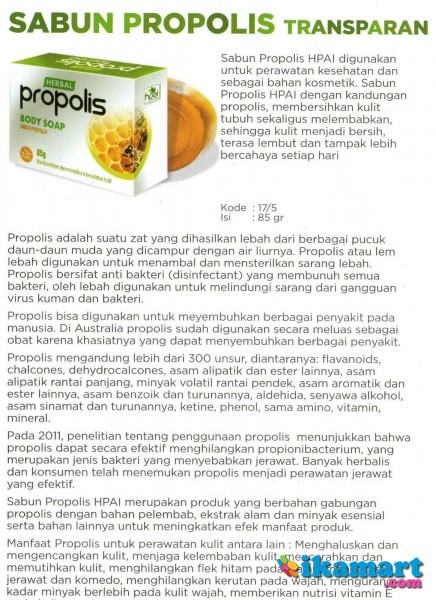 ... sabun propolis anti bakteri virus jerawat luka penyakit kulit soap