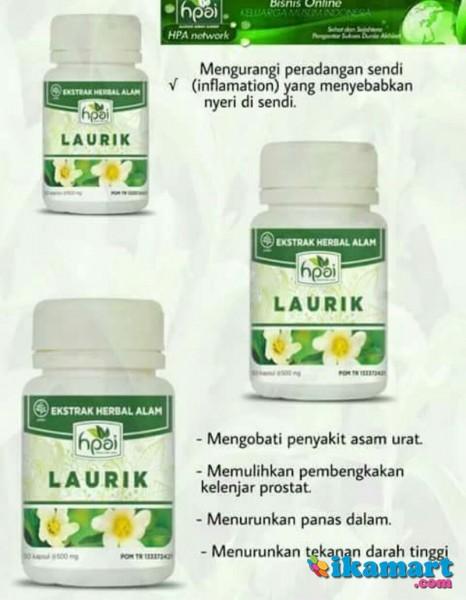 laurik obat jamu herbal asam urat artritis gout