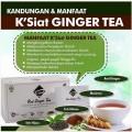 kk K'siat Red Ginger Tea teh hitam teh hijau meniran jahe merah halal kesehatan