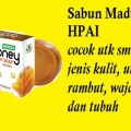 sabun honey madu transparan soap herbal alami natural