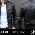 Jaket Kulit Arile Style