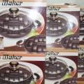 alat cetak kue modern bahan teflon berkualitas snack marker anti lengket best seller