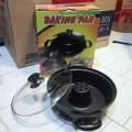 Baking Pan Cetakan Kue Bolu Murah tanpa oven anti lengket 28cm